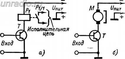 электронное реле на светодиодах схема