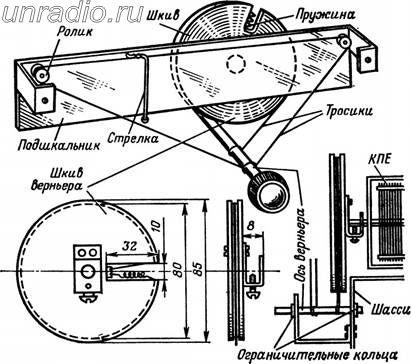 Рис. 215, Верньерный механизм.