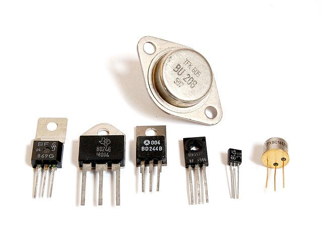 Дискретные транзисторы в различном конструктивном оформлении