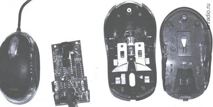 Конструкции на основе компьютерной мышки