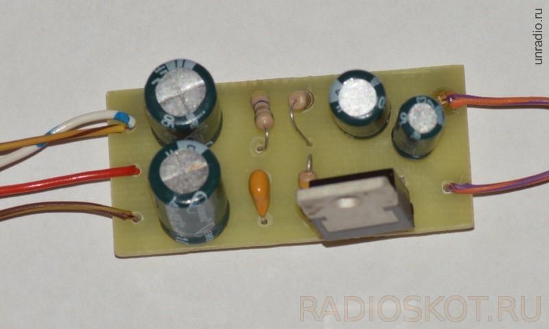 Электронный конструктор - Усилитель 174ун19
