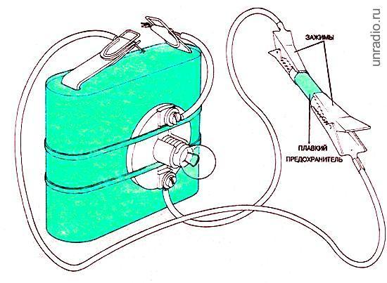 Простой электрический пробник-индикатор